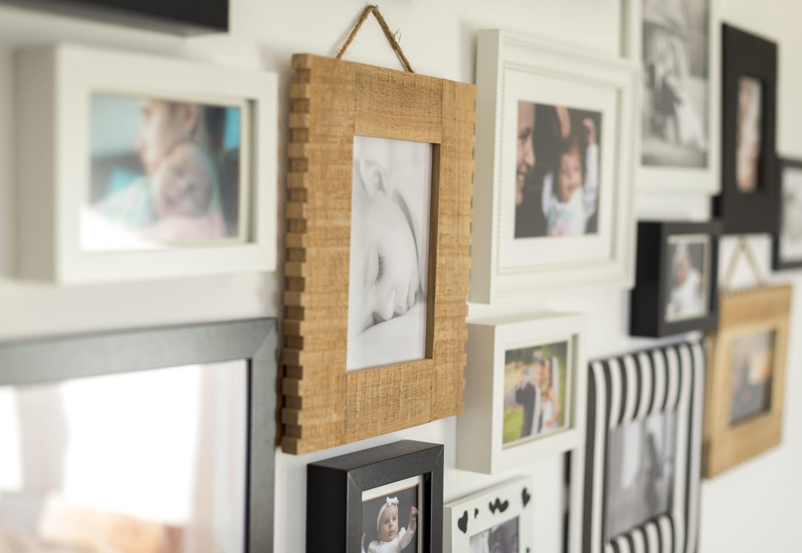 Comment fabriquer facilement un cadre photo de base ?